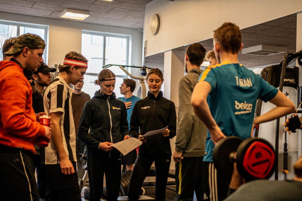 Styrketræning Nordjyllands Idrætshøjskole