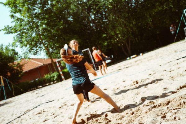 Beachvolley - Nordjyllands Idrætshøjskole
