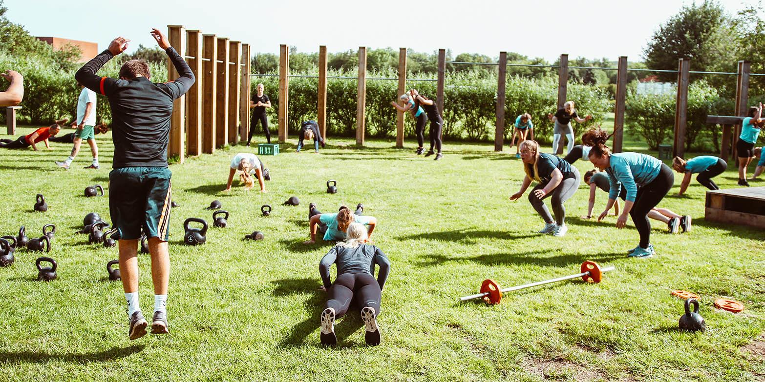 Fitnessholdtræning
