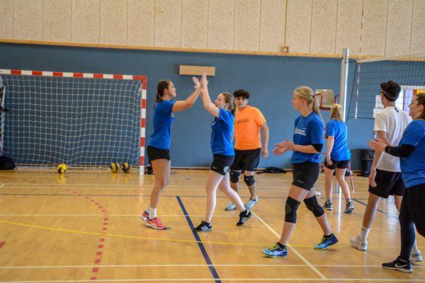 volleyball - Nordjyllands Idrætshøjskole