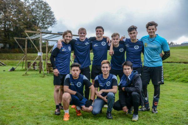 drengenes fodbold hold fodboldstævne - Nordjyllands Idrætshøjskole