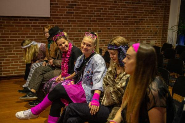 Udklædning venneweekend - Nordjyllands Idrætshøjskole