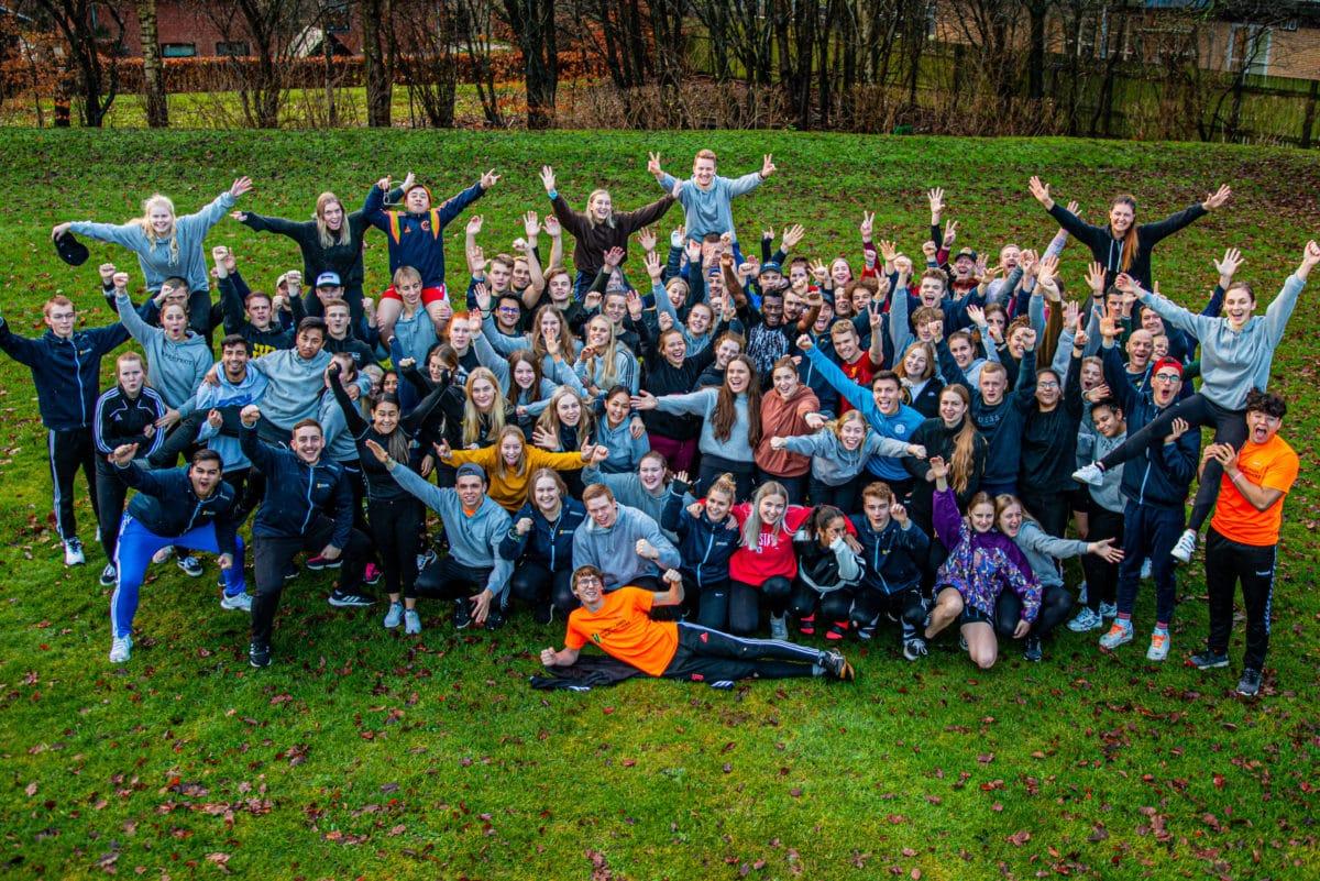 Nordjyllands Idrætshøjskole - E19 fællesbillede