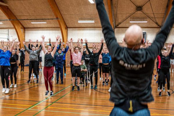 Fællestræning - Nordjyllands Idrætshøjskole