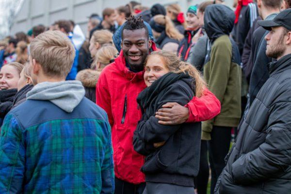 Glade højskoleelever - Nordjyllands Idrætshøjskole