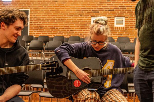 Guitarundervisning - Nordjyllands Idrætshøjskole