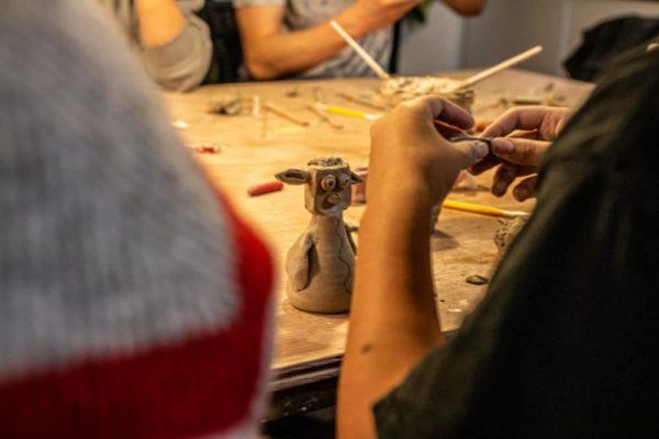 Keramik undervisning - Nordjyllands Idrætshøjskole